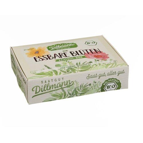 Saatgut Dillmann Essbare Blüten Saatgut-box S Bio Im Papp-geschenkkarton