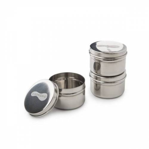 U-Konserve Mini Behälter / Dosen 3er Set