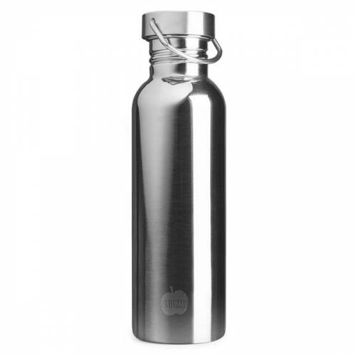 Brotzeit Trinkflasche Steel steel 750 ml mirror look
