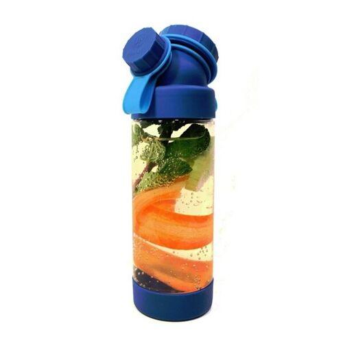 JN JuNiki's Juniki's Trinkflasche T-1 – Tritan Bpa-frei, Auch Für Kohlensäure blau