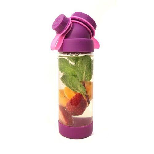 JN JuNiki's Juniki's Trinkflasche T-1 – Tritan Bpa-frei, Auch Für Kohlensäure lila