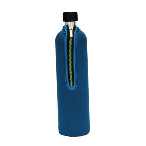 Doras 0,5 l Trinkflasche Aus Glas - Verschiedene Farben blau