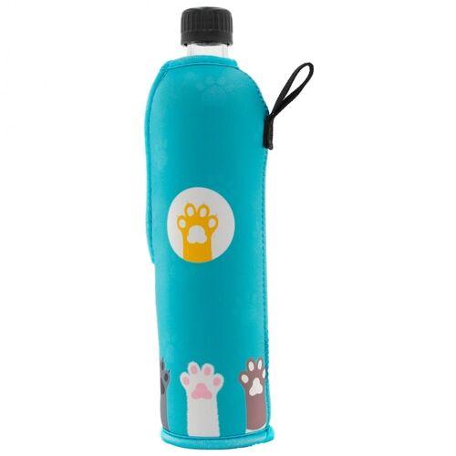 Dora Trinkflasche Aus Glas 500 Ml Neoprenbezug