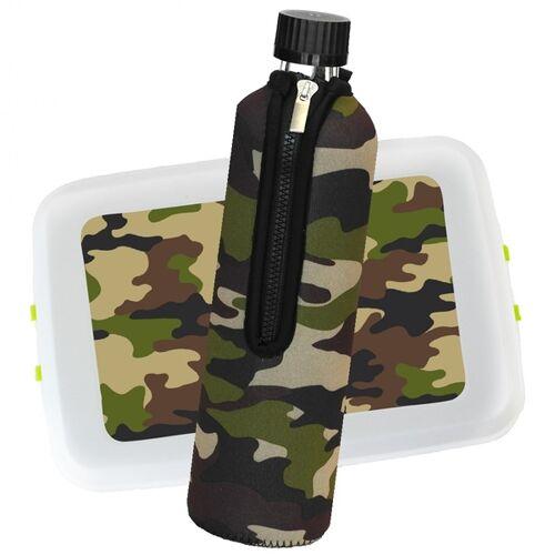 Dora Outdoor Box Mit Glas Trinkflasche Im Bezug