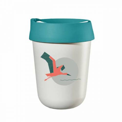 ReUse Heroes Coffee To Go Becher Cafecup – Biodiversity Edition stork