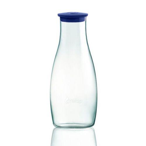 Retap Karaffe - 1,2l Tisch Karaffe dunkelblau