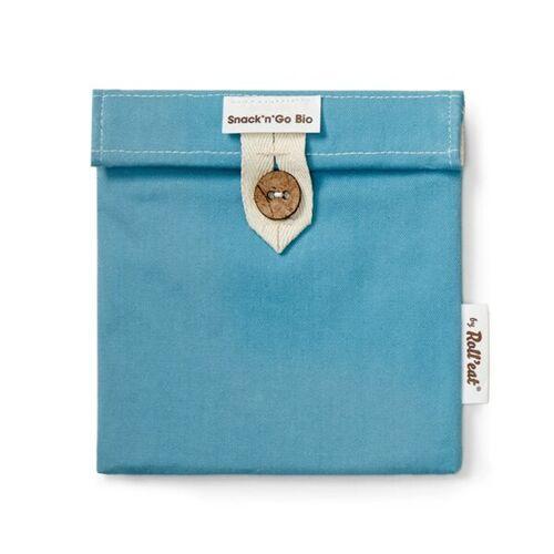 Roll´eat Snack'n'go Bio Snack Tasche blau