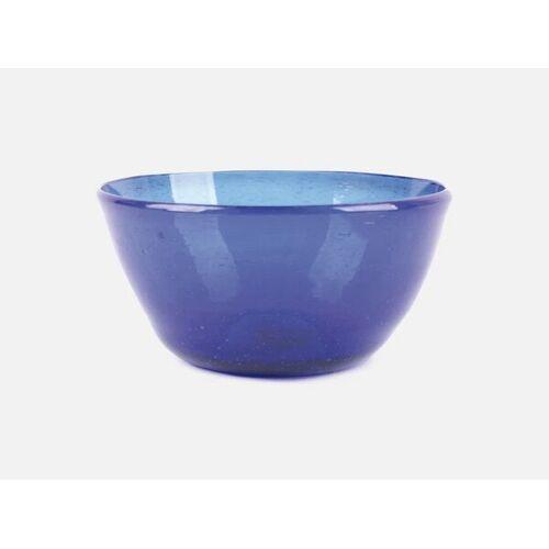 FOLKDAYS Glasschale Klein blau