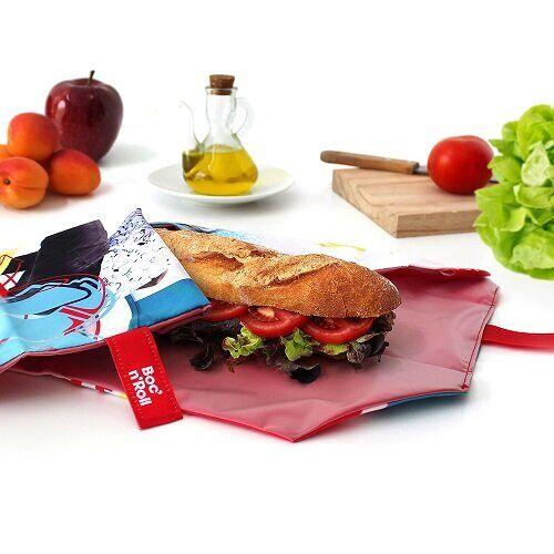 Roll´eat Umweltfreundliche Sandwich Tasche Skate