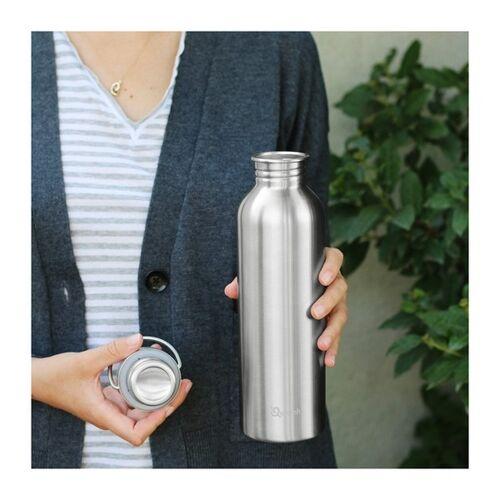 Qwetch Plastikfreie Trinkflasche 1l