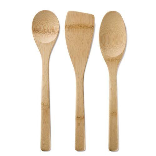 Bambus 3-er Rührlöffel-set bambus
