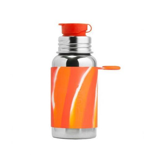 Pura Sportflasche 500ml orange swirl