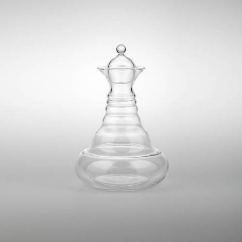 Nature´s Design Glaskaraffe Alladin white