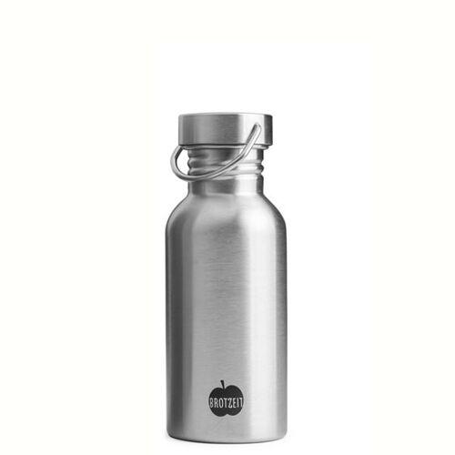 Brotzeit Trinkflasche Steel steel 500 ml