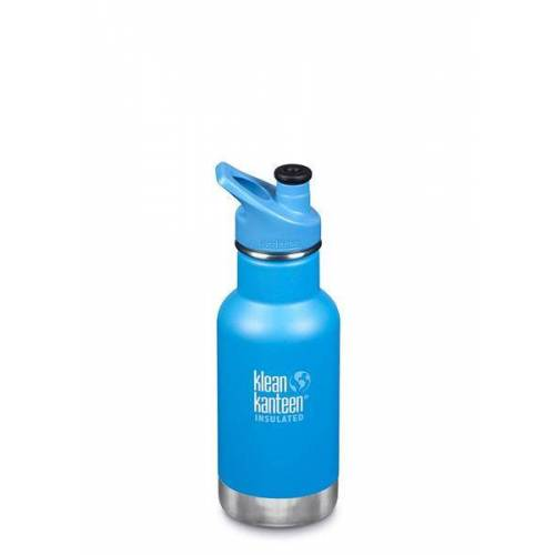 Klean Kanteen Kid Kanteen Classic 355ml Isoliert Sports Cap 3.0 pool party grau