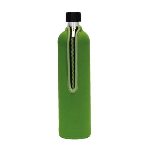 Doras 0,5 l Trinkflasche Aus Glas - Verschiedene Farben grün