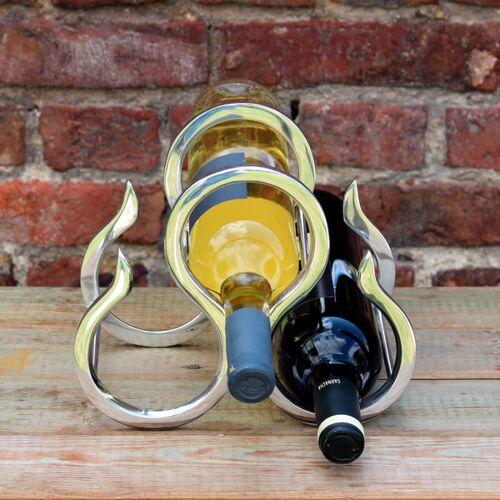"""Mitienda Shop Weinflaschenhalter Aus Zinn """"New York"""""""