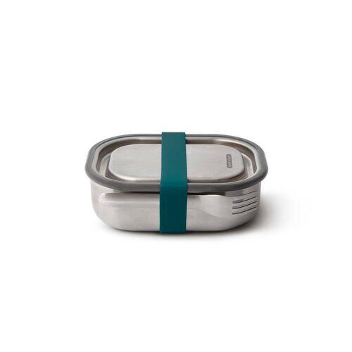 "Black + Blum Auslaufsichere Lunchbox ""Steel Lunch Box Small"" 600ml Aus Edelstahl ocean"