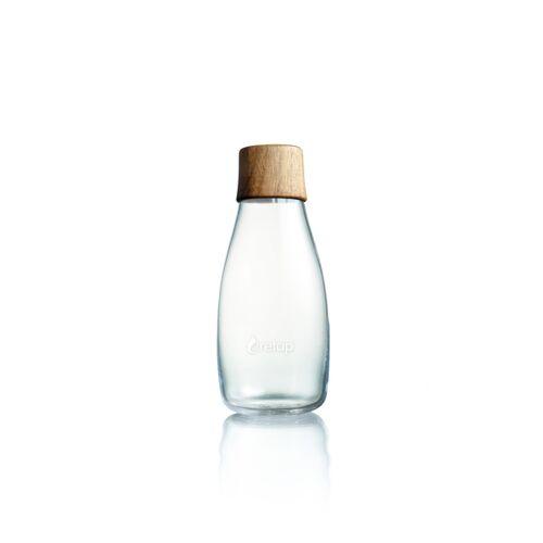 Retap Bottle - 0,3l Trinkflasche nussbaumholz (nicht auslaufsicher)