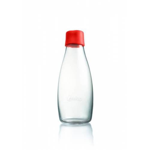Retap Bottle - 0,5l Trinkflasche rot