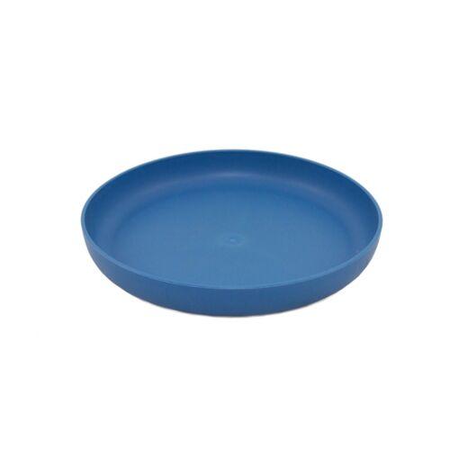 ajaa Bunter Teller Aus Zuckerrohr blue