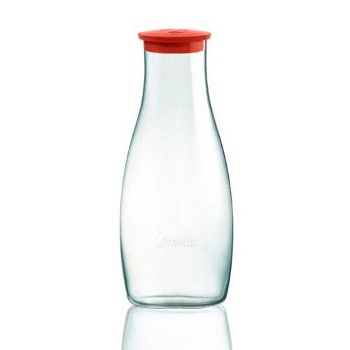 Retap Karaffe - 1,2l Tisch Karaffe rot
