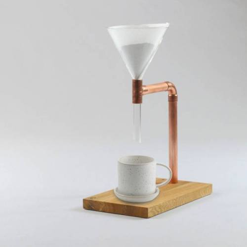 Holzköpfchen Kaffeebereiter Pour Over Lean Coffee Maker Filterkaffee Kaffeemaschine coffee