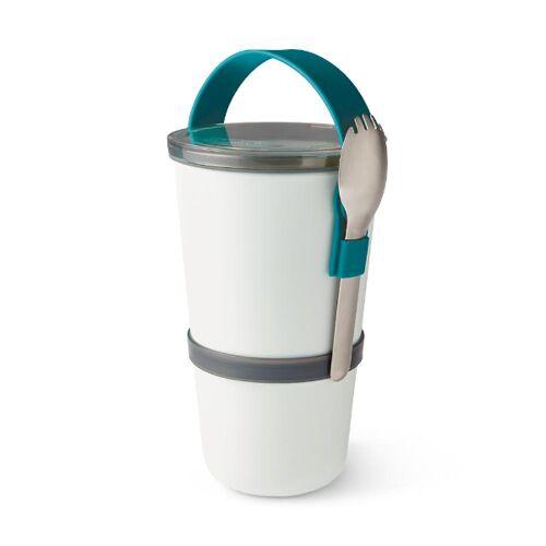 Black + Blum Lunch Pot – Zweiteilige Auslaufsichere Lunchbox blau