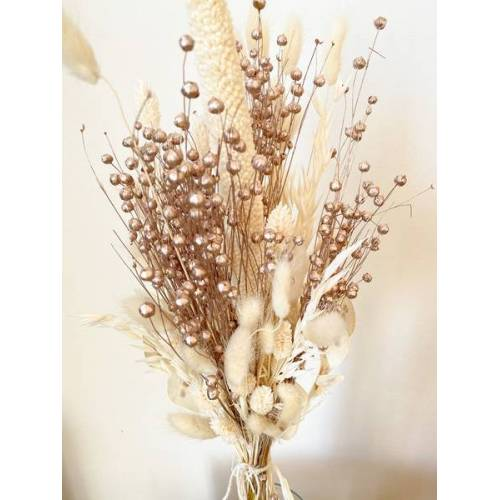 "Blooms 'n' Stories Trockenblumenstrauß ""Champagner"" champagner"