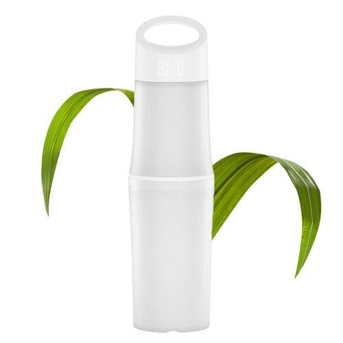 BE O bottle Trinkflasche Aus Zuckerrohr - Plastikfrei weiss