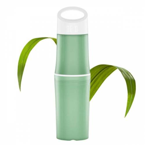BE O bottle Trinkflasche Aus Zuckerrohr - Plastikfrei grün