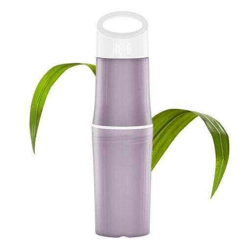 BE O bottle Trinkflasche Aus Zuckerrohr - Plastikfrei lila