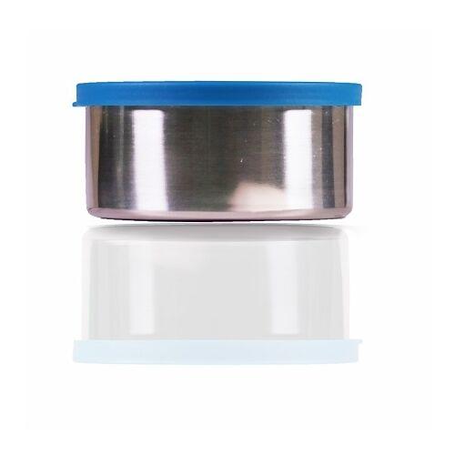 Made Sustained Große Runde Edelstahlbox 450ml Blau blau