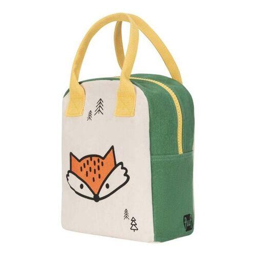 Fluf Zipper Lunch Bag - Lunchtasche Mit Reißverschluss Fox fox