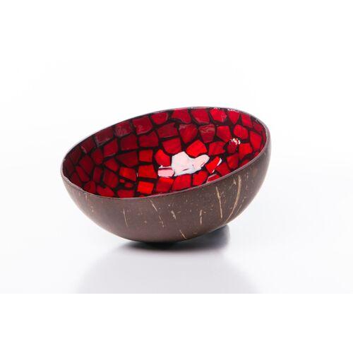 Bea Mely Perlmutt-kokosnuss-schale rot