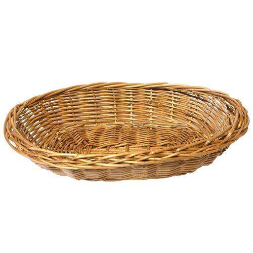 Biodora Ovaler Handgemachter Weidenkorb