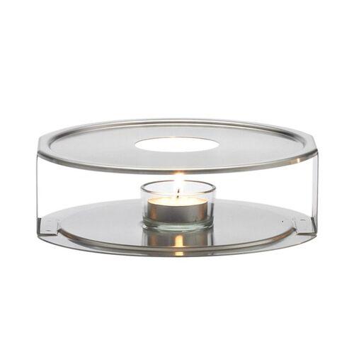 Trendglas Jena Edelstahlstövchen - Teewärmer Aus Edelstahl  ø 17 cm