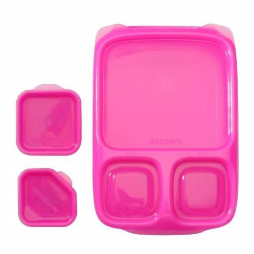 Goodbyn Lunchbox Hero Mit 2 Dippschalen pink
