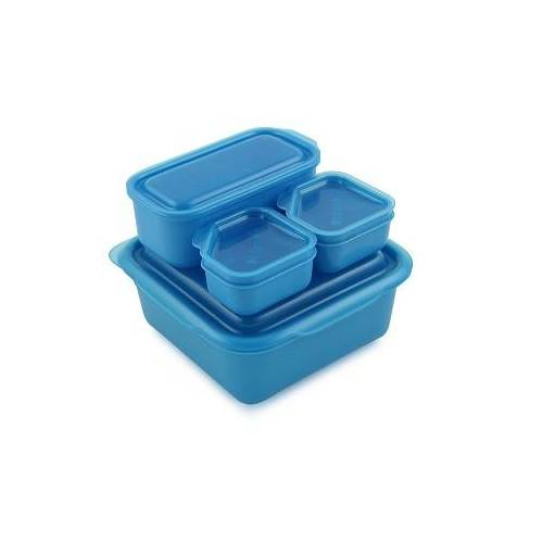 Goodbyn Portions Lunchbox Set blau