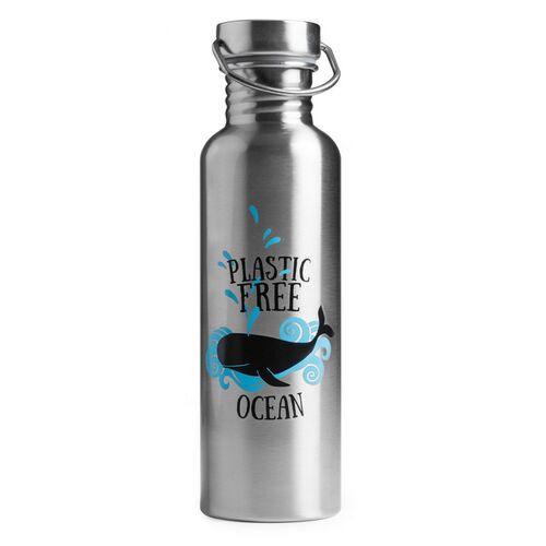 Brotzeit 0,75l Trinkflasche Steel Ocean ocean