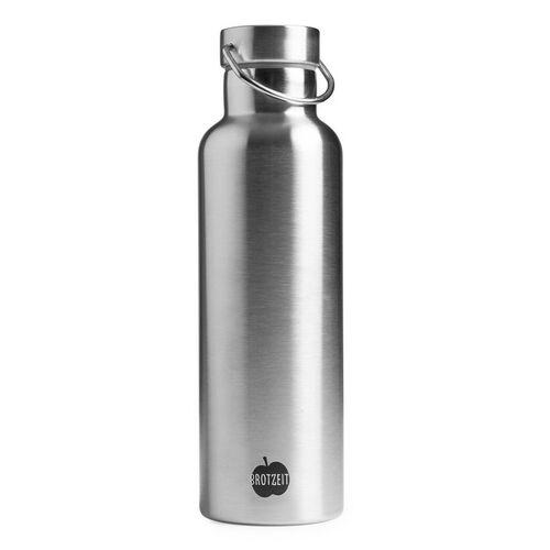Brotzeit 0,75l Thermosflasche Steel steel