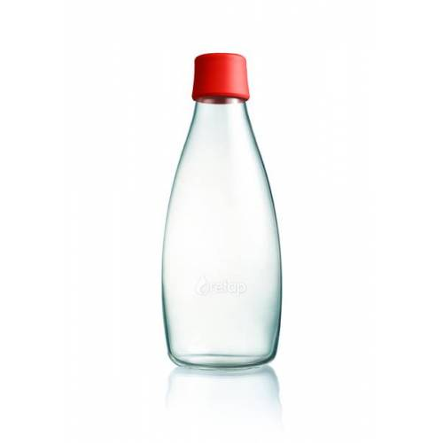 Retap Bottle - 0,8l Trinkflasche rot