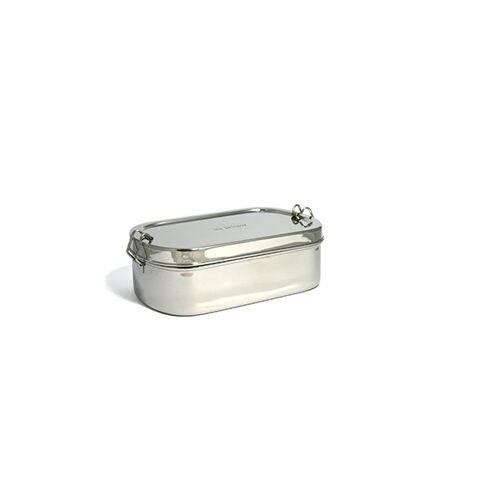 ECO Brotbox Goodies Box - Einlagiger Edelstahlbehälter Mit Klippverschluss