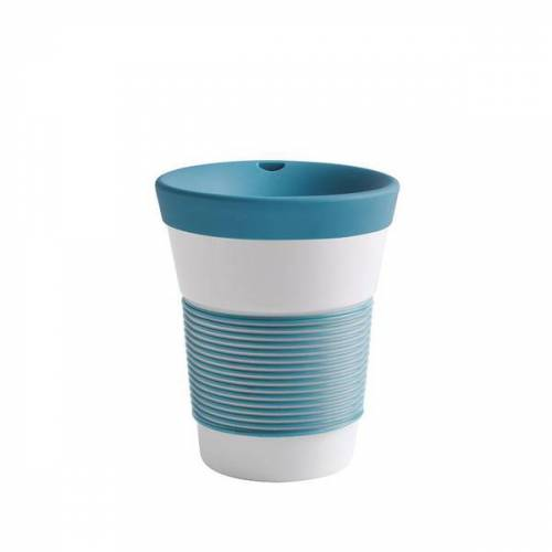 Kahla Kaffeebecher To Go Aus Porzellan 0,35l green lagoon