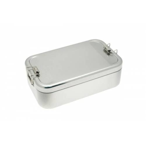 tindobo Brotdose Xl, Lunchbox Aus Weißblech