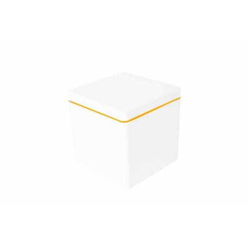ajaa Die Quadratische Aufbewahrungsbox 1,4 l mandarin