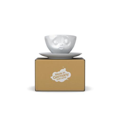 FIFTYEIGHT PRODUCTS Küssende Kaffeetasse Aus Porzellan