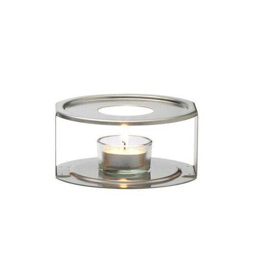 Trendglas Jena Edelstahlstövchen - Teewärmer Aus Edelstahl  ø 12 cm