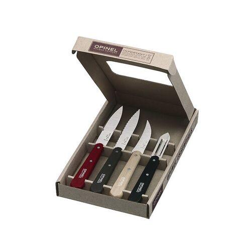 Opinel Küchenmesser-set, 4-teilig, Farbig