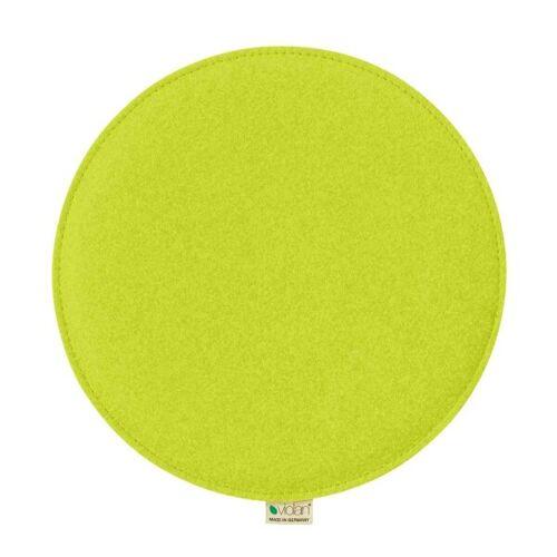 Metz Stylische Sitzkissen Violan Circle 33 Cm kiwi